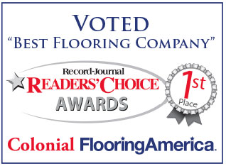Voted best flooring company-Reader's Choice Awards